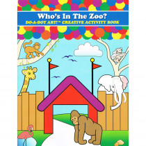 DADB371 - Zoo Animals Activity Book in Art Activity Books