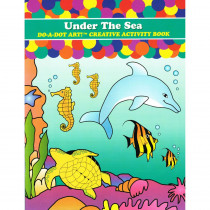 DADB372 - Sea Animals Activity Book in Art Activity Books