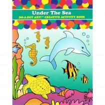 DADB372 - Sea Animals Activity Book in Art Activity Books