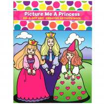 DADB374 - Picture Me A Princess Activity Book in Art Activity Books
