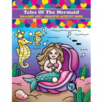 DADB378 - Tales Of The Mermaid Do-A-Dot Art Creative Activity Book in Art Activity Books