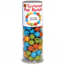 DBD965 - Textured Pop Beads 100 Ct Tube in Sensory Development