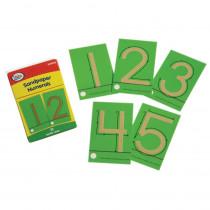 DD-210828 - Tactile Sandpaper Numerals in Sensory Development