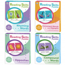 DD-211005 - Reading Skills Puzzles Set Of All 4 in Puzzles