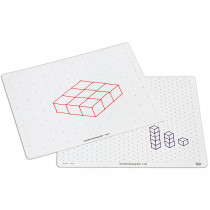 DD-211247 - Isometric Draw Writeon Wipeoff Mats in Geometry