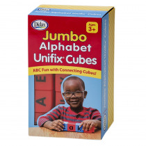 DD-211265 - Jumbo Alphabet Unifix Cubes in Letter Recognition