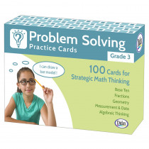DD-211279 - Problem Solving Practice Cards Gr 3 in Flash Cards