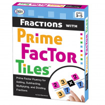 DD-211282 - Fractions With Prime Factor Tiles in Fractions & Decimals