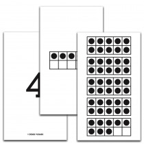 DD-211480 - Ten Frame 1-50 Cards in Base Ten