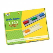 DD-211504 - Unifix 1-120 Number Line in Unifix