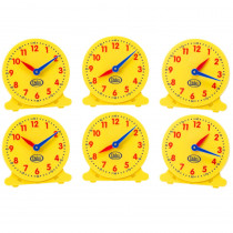 DD-211550 - 5In Student Clocks Set Of 6 in Time