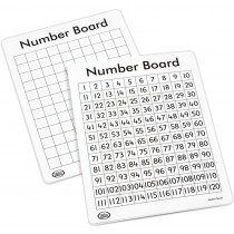 DD-211639 - Write On Wipe Off 120 Number Mats in Numeration