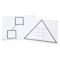 DD-211763 - Write On Wipe Off Addition Triangl Mats in Addition & Subtraction