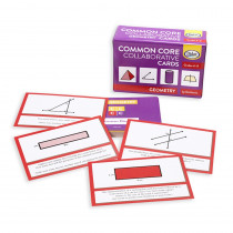 DD-211770 - Common Core Collaborative Cards Geometry Gr 6-8 in Geometry