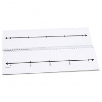 DD-211791 - Fraction Number Line Flip Book in Fractions & Decimals
