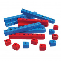 DD-2810 - Unifix Letter Cubes Set Of 90 in Word Skills