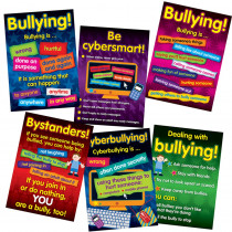 DD-556601 - Bullying In A Cyber World Poster Set Gr 2-5 in Social Studies