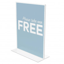 DEF69201 - Classic Image Standup Sign Portrait in Sheet Protectors