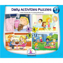DEX1917 - Daily Activities 4 In 1 Puzzles in Puzzles