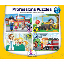 DEX1918 - Professions 4 In 1 Puzzles in Puzzles