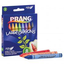 Soybean Crayons, Large, 8 Colors - DIX00900 | Dixon Ticonderoga Company | Crayons