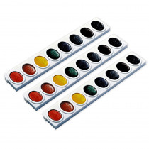 DIX08200 - 3 Refill Trays Oval Pan Watercolors in Paint