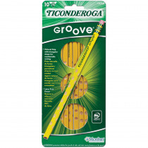 DIX13058 - Ticonderoga Groove No 2 10Ct in Pencils & Accessories