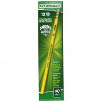 DIX13882 - Ticonderoga Pencil No 2 Soft 1Dz in Pencils & Accessories