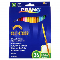 Duo Colored Pencils, 36 Color Set - DIX22118 | Dixon Ticonderoga Company | Colored Pencils