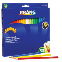 Colored Pencils, Presharpened, 50 Colors - DIX22480 | Dixon Ticonderoga Company | Colored Pencils