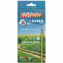 Graduate Colored Pencils, Cardboard Box of 12 - DIX2871121 | Dixon Ticonderoga Company | Colored Pencils