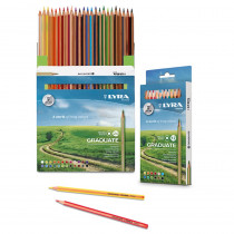 Graduate Colored Pencils, Cardboard Box of 24 - DIX2871241 | Dixon Ticonderoga Company | Colored Pencils