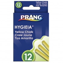 DIX31344 - Hygieia Dustless Board Chalk Easy Yellow in Chalk