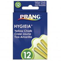 DIX31344 - Hygieia Dustless Board Chalk Easy Yellow in Chalk