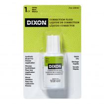 Correction Fluid, .7 oz., Blister Card Package, 1 Count - DIX31901 | Dixon Ticonderoga Company | Liquid Paper
