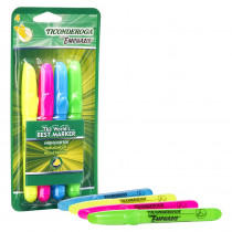 Emphasis Highlighters, Desk Style, Chisel Tip, 4 Assorted Colors - DIX47074 | Dixon Ticonderoga Company | Highlighters