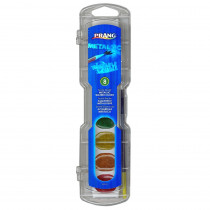 DIX80516 - Prang Watercolor Masterpk Metallic Colors 8 Count in Paint