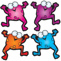 DJ-620033 - Colorful Froggies Cut-Outs - Assort in Accents