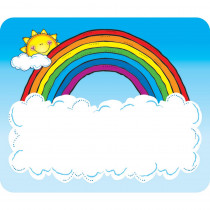 DJ-650005 - Name Tags Sun N Rainbow in Name Tags