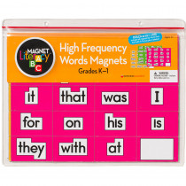 DO-733000 - Magnet Literacy High Frequency Word Magnets Gr K-1 in Word Skills