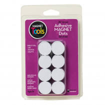 DO-735007 - 100 3/4 Dia Magnet Dots With Adhesive in Adhesives