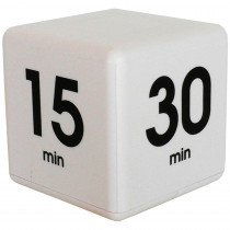 DTX33 - White 60 Minute Preset Timer Cube in Timers