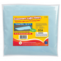 EI-1230 - Classroom Mood Filters 4/Set Tranquil Blue in Accessories