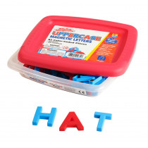 EI-1631 - Alphamagnets Uppercase 42 Pcs Color-Coded in Magnetic Letters
