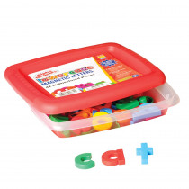 EI-1632 - Alphamagnets Lowercase 42 Pcs Multicolored in Magnetic Letters