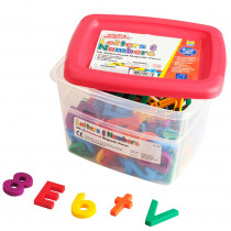 EI-1636 - Alpha And Mathmagnets Multi 126-Pk in Magnetic Letters