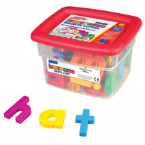 EI-1684 - Alphamagnets Jumbo Lowercase 42 Pcs Multicolored in Magnetic Letters