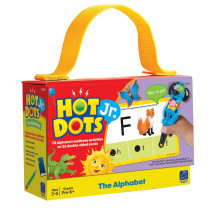 EI-2351 - Hot Dots Jr Cards The Alphabet in Hot Dots