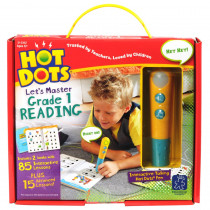 EI-2392 - Hot Dots Jr Lets Master Reading Gr 1 in Hot Dots