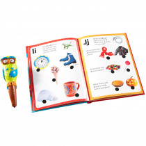 EI-2395 - Hot Dots Jr Lets Learn The Alphabet Interactive Book & Pen in Hot Dots